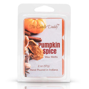 The Candle Daddy Accents - 5 pack -Pumpkin Spice Scented Wax Melts 5 (five)